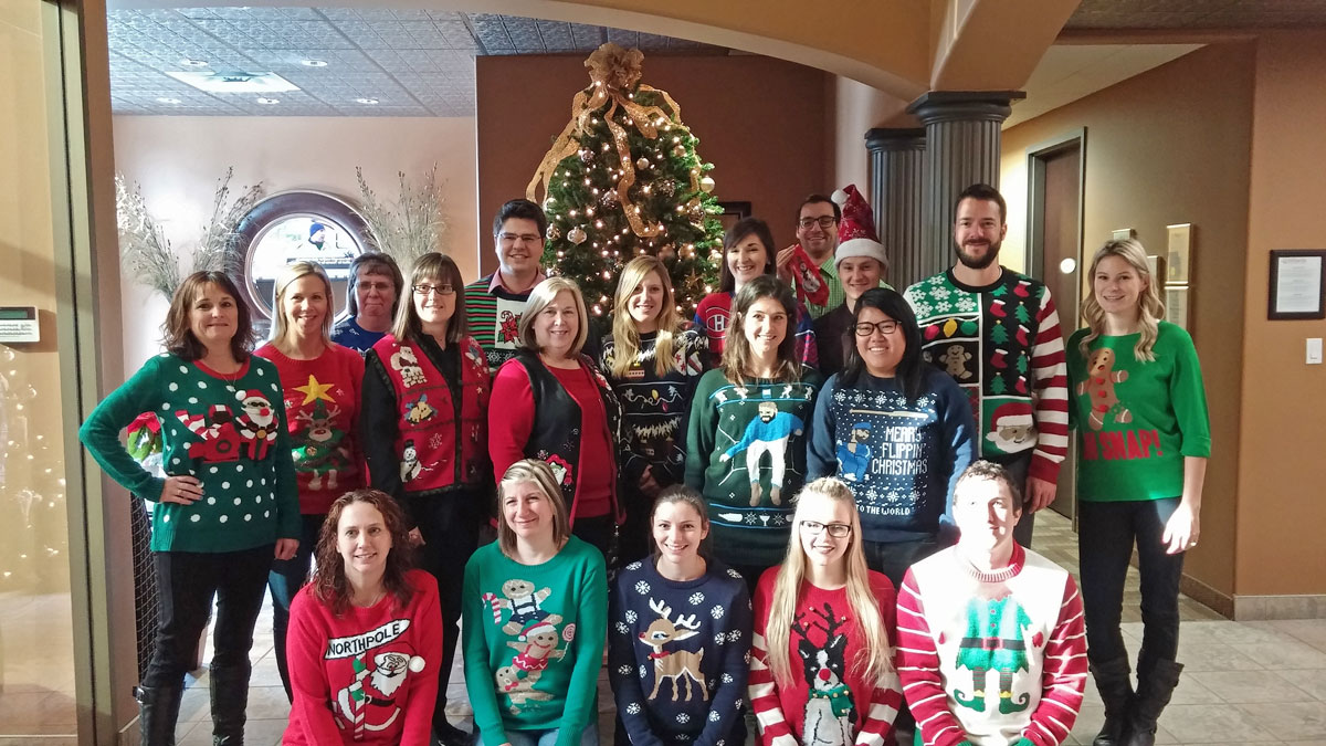 47464b89587 Ugly Sweater Battle Feeds Those In Need