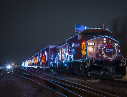 Celebrate The Season With The Family Friendly CP Holiday Train!