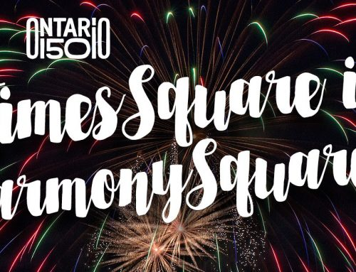 Celebrate the arrival of 2018 in Harmony Square!