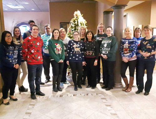 City Firm's Battle For Ugly Sweater Supremacy Ends In A Win/Win!