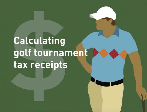Calculating Golf Tournament Tax Receipts