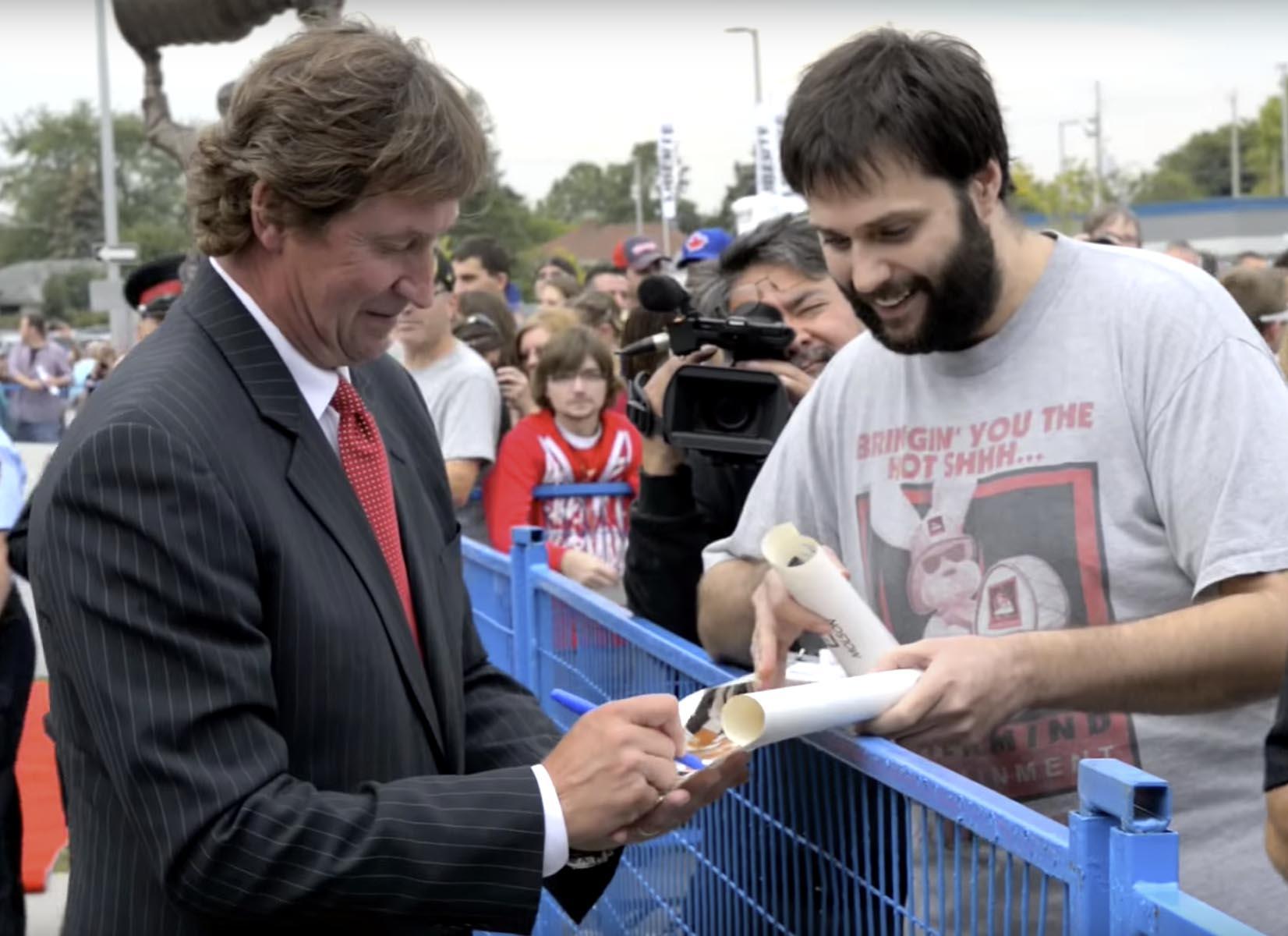 Wayne Gretzky Sports Centre Grand Opening