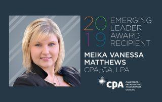 CPA Ontario Emerging Leader Award