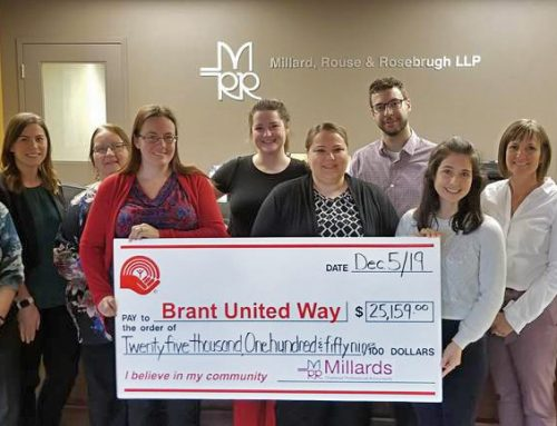 Millards Staff Donate Over 25 Thousand To Brant United Way