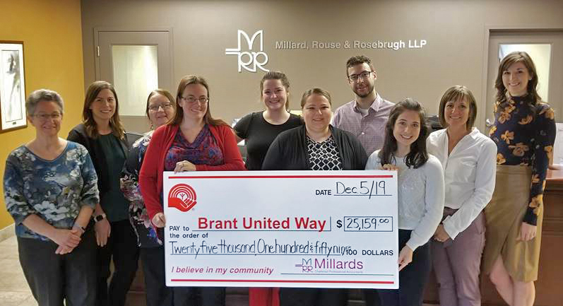 United-Way-Donation-Dec, 2019