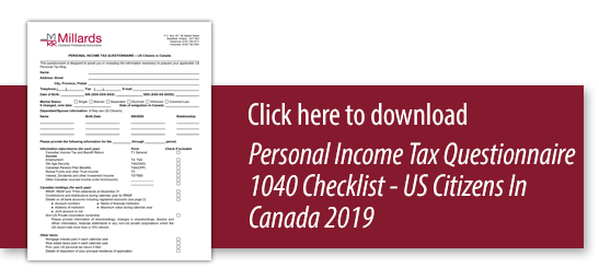 2019-Income-Tax-Questionnaire