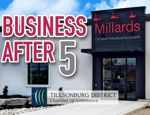 Join Us For Our Tillsonburg Grand Opening At Business After 5!