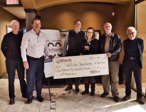 Millards Makes 5 Year, $250,000 Pledge to Support At-Risk Youth