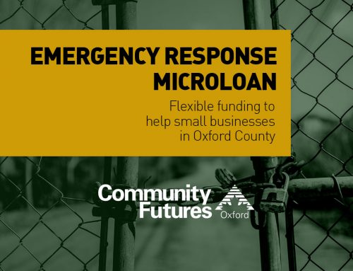 Community Futures Emergency Microloans For Oxford County