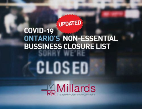 COVID-19 Mandatory Closure of Non-Essential Businesses – Updated