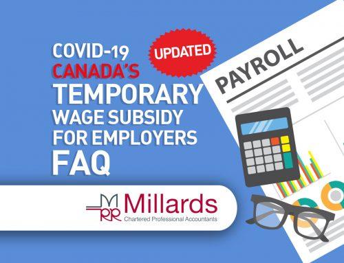 COVID-19 – Canada's Temporary Wage Subsidy – FAQ